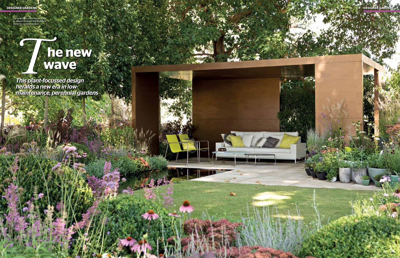 Ian barker gardens in backyard garden design ideas 115 ian ian barker gardens feature in backyard and garden design ideas issue 115 article the new workwithnaturefo