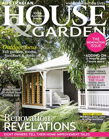 The Cover Of The October 2014 Issue Of Australian House U0026 Garden Magazine  Which Feature An