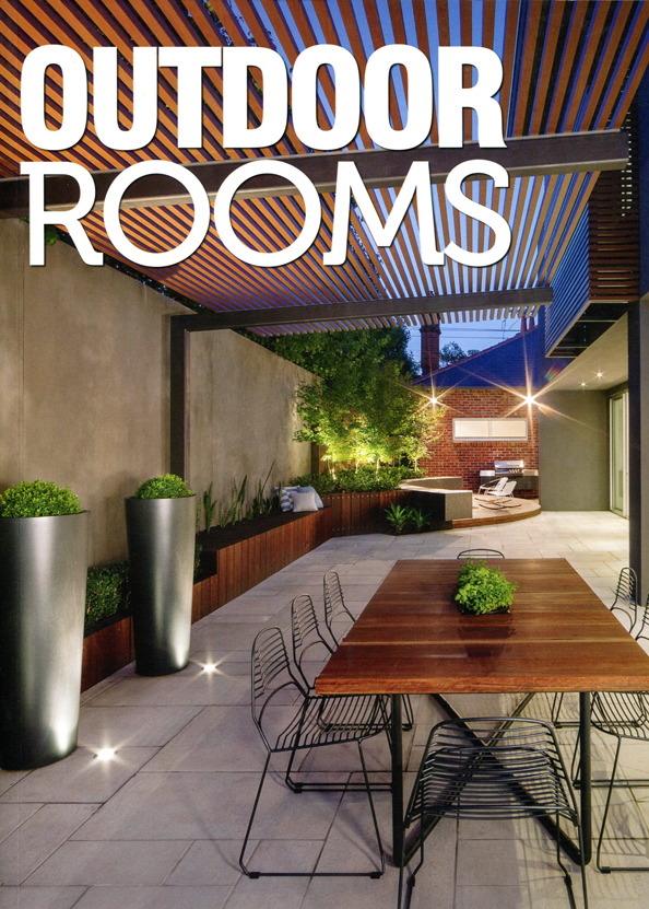 Outdoor rooms magazine ian barker gardens landscapers Outside rooms garden design
