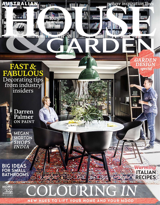 the june 2015 cover of australian house garden magazine which features coverage of the - House And Garden Magzine