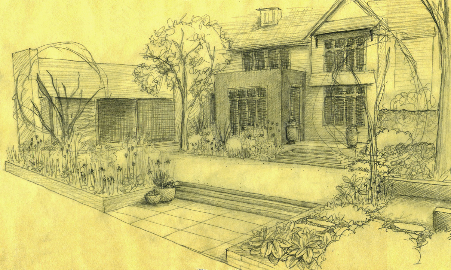 Hand Drawing Landscape Architecture
